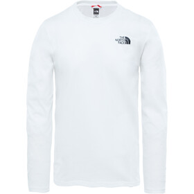 The North Face Easy Longsleeve T-Shirt Heren, wit